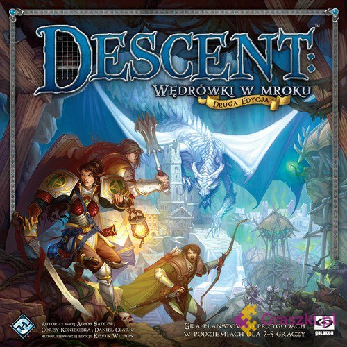 Descent: Wędrówki w mroku (edycja druga) | Galakta